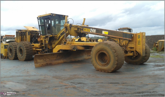 Cat 24h grader for sale in united states click to see for Cat 24h motor grader